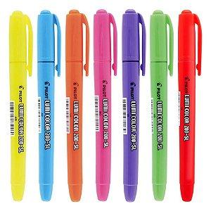 Kit Marca Texto Lumi Color Neon Pilot c/7