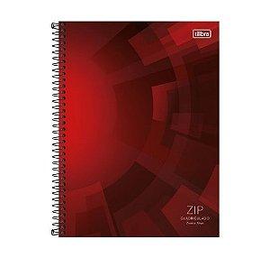 Caderno Universitário Zip Quadriculado 7x7  Tilibra