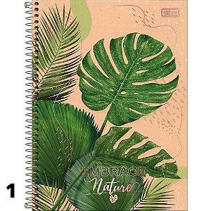 Caderno Universitário 1M Naturalis 80 Folhas Tilibra