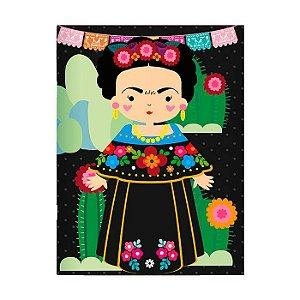 Planner Mensal Frida Kahlo 56 páginas