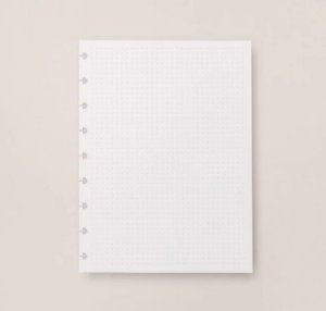 Refil Caderno Inteligente Médio Pontilhado 120g 20 Folhas CIRM3006