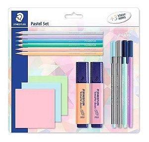 Kit Pastel Set 15 Peças Staedtler SBK2
