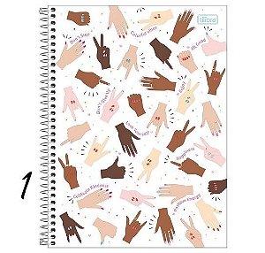 Caderno Espiral Universitário 1 M Oh My God! 80 Folhas Tilibra
