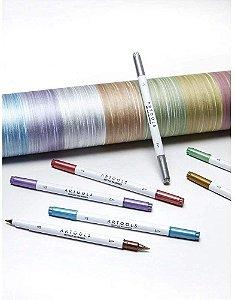 Caneta Brush Pen Metálica Artools Avulsa