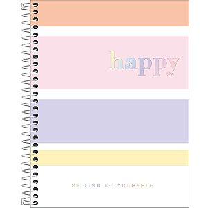 Caderno Colegial Happy Color 10M 160 folhas Tilibra