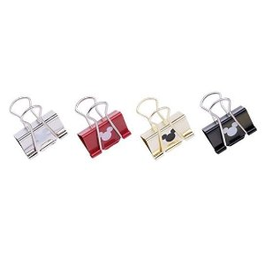 Binder Clips Mickey 25mm Molin 6un