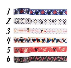 Washi Tape Mickey e Minnie Molin
