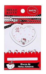 Bloco Adesivo e Marca Página Hello Kitty Molin 21701
