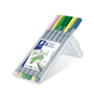 Estojo Caneta Fineliner My Botanical Colours Staedtler