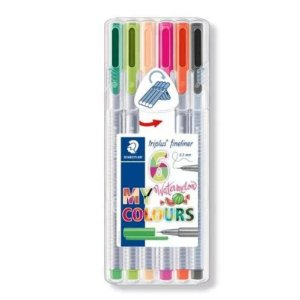 Estojo Caneta Fineliner My Watermelon Colours Staedtler