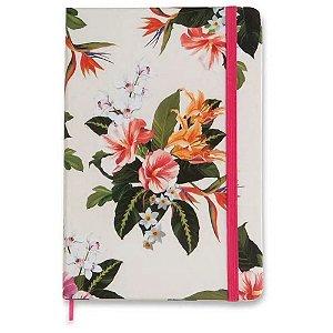 Caderneta Pontilhada Tropical Flora 80fl Cicero