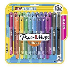 Estojo Caneta InkJoy Capped 0.7 20C Paper Mate