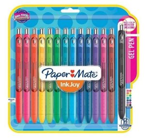 Estojo Caneta InkJoy RT 0.7 14C Paper Mate