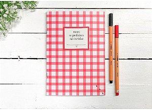 Caderno de Receitas Meus segredos na cozinha - Papelote