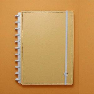 Caderno Inteligente Laranja Pastel 80 Folhas