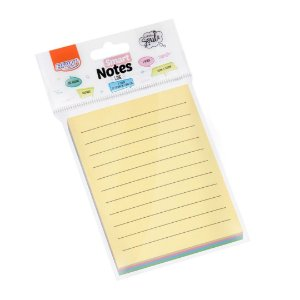 Bloco Smart Notes Line Tons Pastel BRW