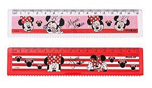 Régua Minnie Mouse 15cm Molin