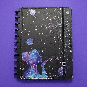 Caderno Inteligente Poeira das Estrelas 80 Folhas