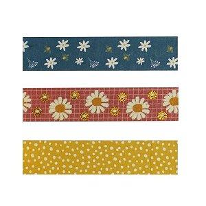 Washi Tape Garden Flores c/3rl 79806 Leonora