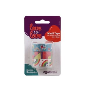 Washi Tape Love is Love - Arco Iris c/3un 79163