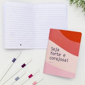 Caderneta Seja Forte Papelote
