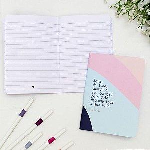 Caderneta Guarde o Seu Coração Papelote