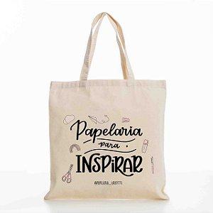 Ecobag Papelaria para Inspirar