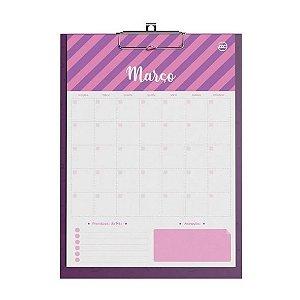 Calendário Planner Prancheta Signos DAC