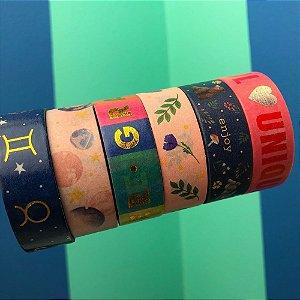 Washi Tape decorada 15mmx10m Tilibra