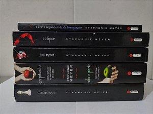 Coleção Crepúsculo - Stephenie Meyer C/5 Volumes