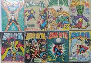 Coleção Hq Heróis da TV - C/8 Volumes