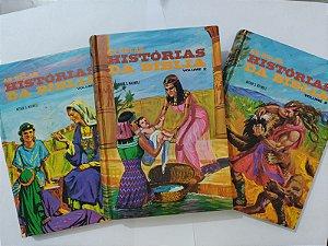 Coleção as Belas Histórias da Bíblia - Arthur S. Maxwell C/3 volumes