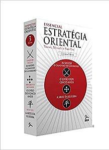Box Essencial da Estratégia Oriental - Caixa com 3 Volumes - Yuzan, Musashi e Sun Tzu - Novo e Lacrado