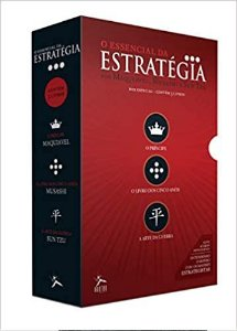 Box de Livros - o Essencial da Estratégia (3 Volumes) - Sun Tzu Maquiavel e Musashi - Novo e Lacrado