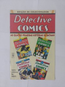 Detectíve Comics: As Quatro Primeiras Histórias de Batman - Edição de Colecionador (Texto Em inglês)