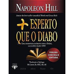 Mais esperto que o Diabo - LIVRO DE BOLSO: O mistério revelado da liberdade e do sucesso - Napoleon Hill Novo e Lacrado