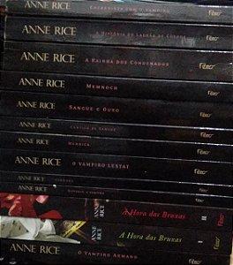 Coleção Anne Rice - As Crônicas Vampirescas - 13 volumes