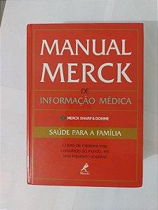 Manual Merck de Informação Médica - Merck Shapp e Dohme