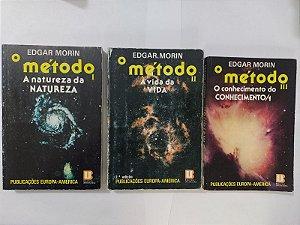 Coleção O Método - Edgar Morin C/3 Livros
