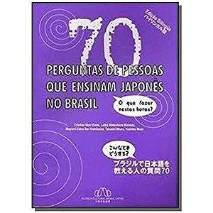 70 Perguntas Ensinam Japonês No Brasil - Edição Bilingue - Cristina Maki Endo