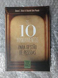 Os 10 Mandamentos para Gestão de Pessoas - Simon L. Dolan e Eduardo Soto Pineda