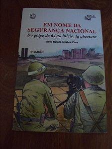 Em Nome Da Segurança Nacional - Maria Helena Simões Paes