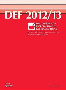 Def 2012 / 2013 41ª Edição - Dicionário Especialidades
