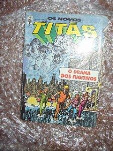 Os Novos Titãs - No. 9 -  O Drama Dos Fugitivos