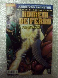 Heróis Renascem -homem De Ferro - Nº 10   Marvel Comics
