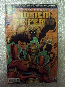 Heróis Renascem -homem De Ferro - Nº 08   Marvel Comics