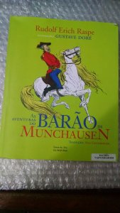 As Aventuras Do Barão De Muchausen - Rudolf Erich Raspe