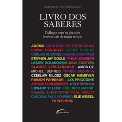 Livro Dos Saberes - Diálogos Com Os Grandes Intelectuais