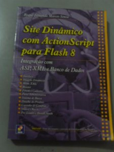 Site Dinâmico Com Action Script Para Flash 8 - Roque Fernand