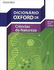 Dicionário Oxford De Ciências Da Natureza - Novo